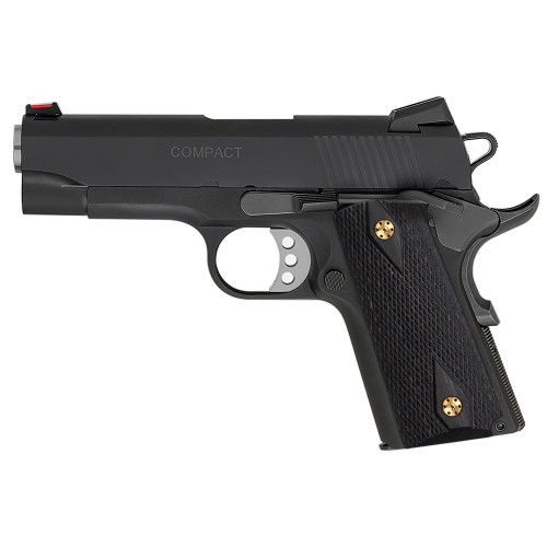 1911 Compact Officer Size Rosewood Gun Grips, Checker Diamond Cut, Screws Included,  H2-DC-GW