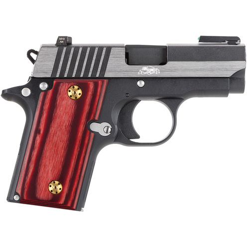 Sig Sauer P238  Gun Grips without Ambi Safety Cut, High Polished Wood, Screws Included, H3N-S-C