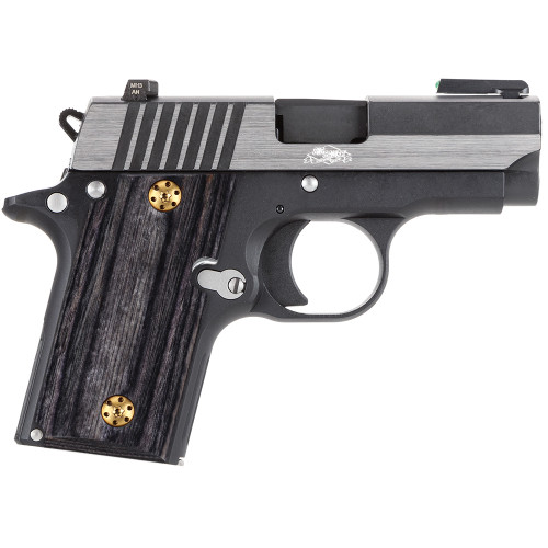 Sig Sauer P238  Gun Grips without Ambi Safety Cut, High Polished Wood, Screws Included, H3N-S-GW