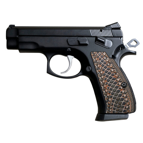 CZ 75 85 Compact Size G10 Gun Grips Snake Scale Texture, SPC-2-24
