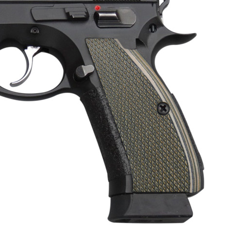 Cool Hand G10 Grips for CZ 75 Full Size, SP-01 Series, Shadow 2, 75B BD, Coyote