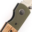 3.25'' 440 Steel Blade Folding Knife with Wood/G10 Handle 6002GZW-S