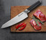 8'' Chef German 1.4116 Steel Kitchen Knife with Ebony Handle 7198G-E
