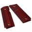 1911 Slim Compact Size Gun Grips, High Polished Wood, Screws Included, H2S-S-C