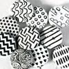 Monochrome Badges
