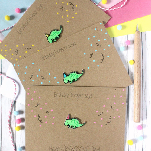 Happy Birthday Card. Handmade Birthday Card. Dinosaur Card. Birthday Dinosaur. Happy Birthday. Dinosaur. Happy Birthday Card. Card. Greenery