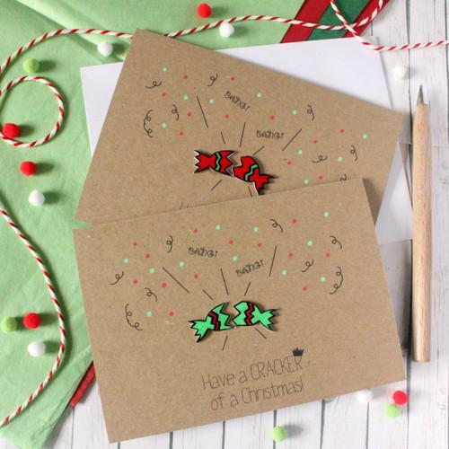 Handmade Christmas Card. Christmas Card. Xmas Card. Holiday Card. Christmas Cards. Christmas Cracker. Cracker. Christmas. Xmas Card. Cards.
