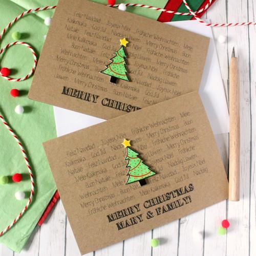 Personalised Christmas Card. Holiday Card. Christmas Card. Christmas Cards. Christmas Tree. Languages. Holiday Cards. Xmas Card. Xmas