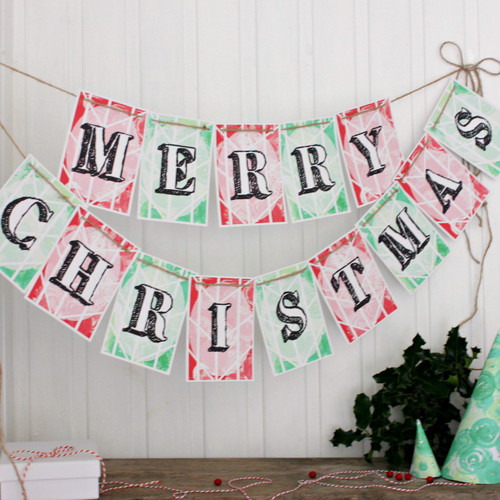 Christmas Decorations. Bunting. Christmas Bunting. Merry Christmas. Christmas. Party Bunting. Christmas Party Decorations. Christmas Bunting