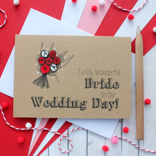 Wedding Card for my Bride