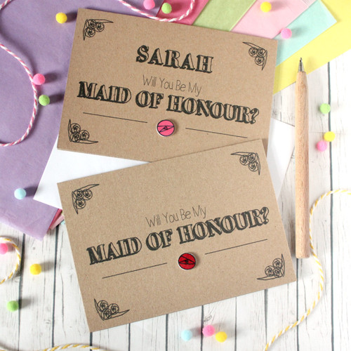 Personalised Maid of Honour Card. Be My Maid of Honour Card. Maid of Honour Card. Will You Be My Maid of Honour. Maid of Honour Ask Card. Wedding Card. Wedding. Maid of Honour. Maid of Honor.