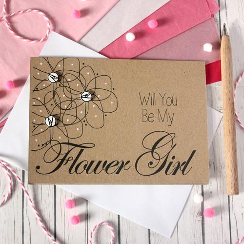 Personalised Flower Girl Card. Flower Girl Card. Flower Girl Cards. Will You Be My Flower Girl. Flowers. Be My Flower Girl. Floral Wedding Card. Flower Girl. Flower Girls.