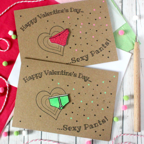 Valentine Card. Valentine's Day Card. Valentine. Valentine's Card. Happy Valentine's Day. Boyfriend Valentine. Girlfriend Valentine. Husband Valentine. Wife Valentine. Sexy Pants