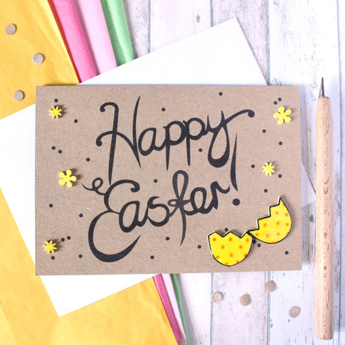 Easter Egg Card. Handmade Easter Card. Happy Easter. Easter Cards. Cards for Easter. Cute Easter Card. Easter Egg. Little Silverleaf Cards