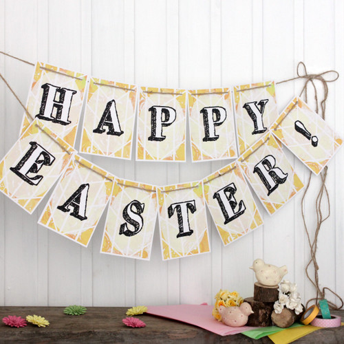 Easter Bunting. Bunting. Easter Banner. Easter Garland. Easter Decorations. Indoor Bunting. Easter. Happy Easter. Easter Party. Easter Fun.