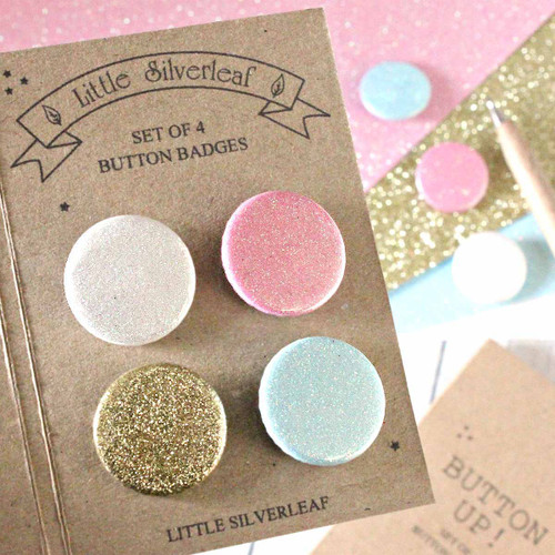 Choose Your Own Glitter Badge Pack