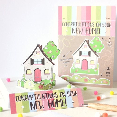 New Home Keepsake Card