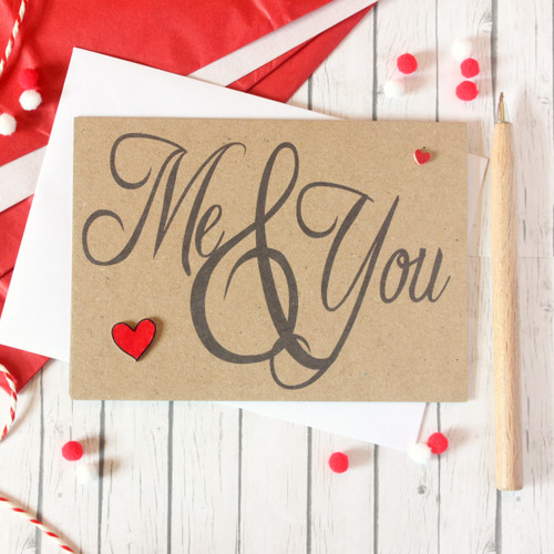Me & You Card