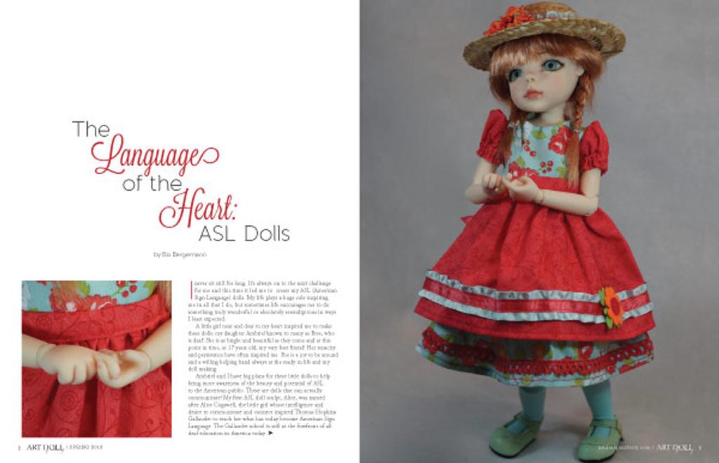 Art Doll Quarterly Spring  2018
