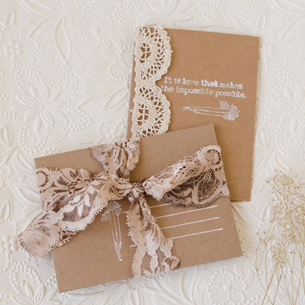 Lace Stationery Bundle Project