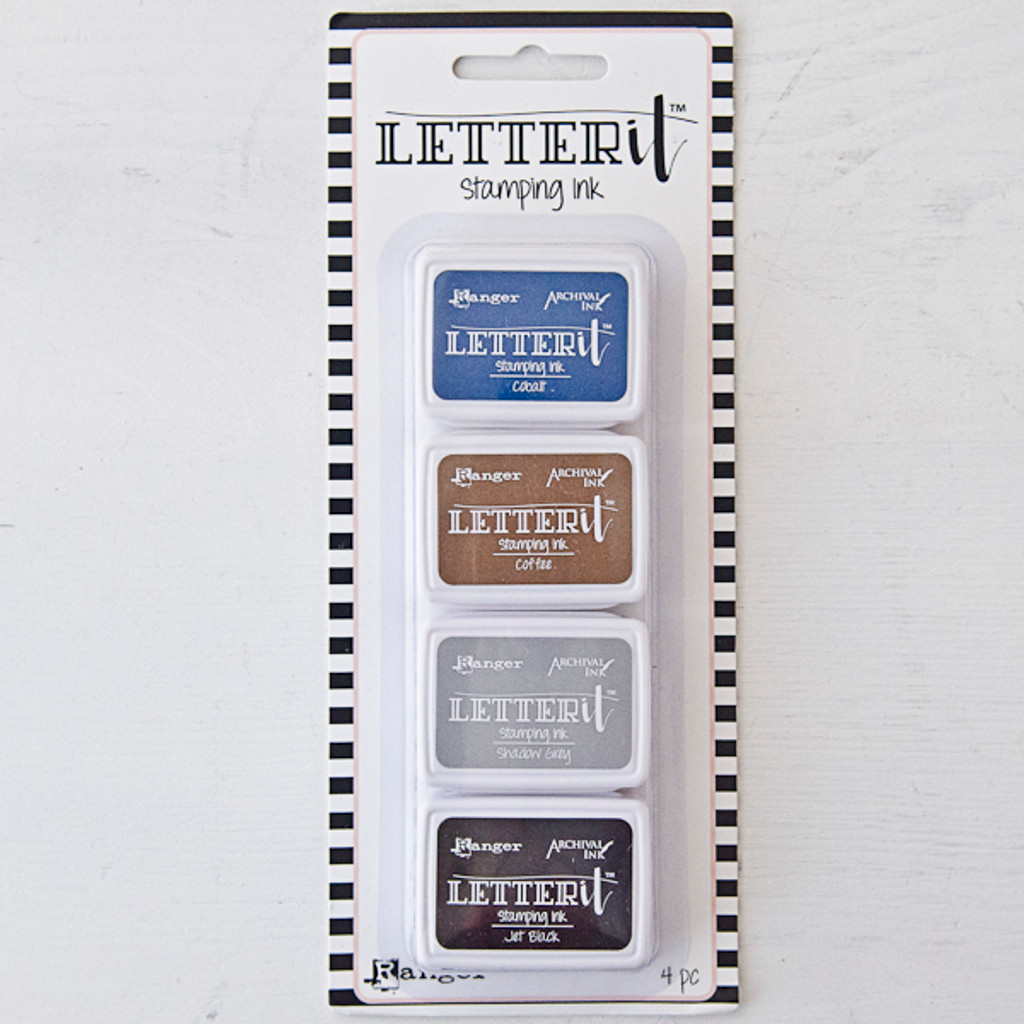 Letter It Stamping Ink Set #1