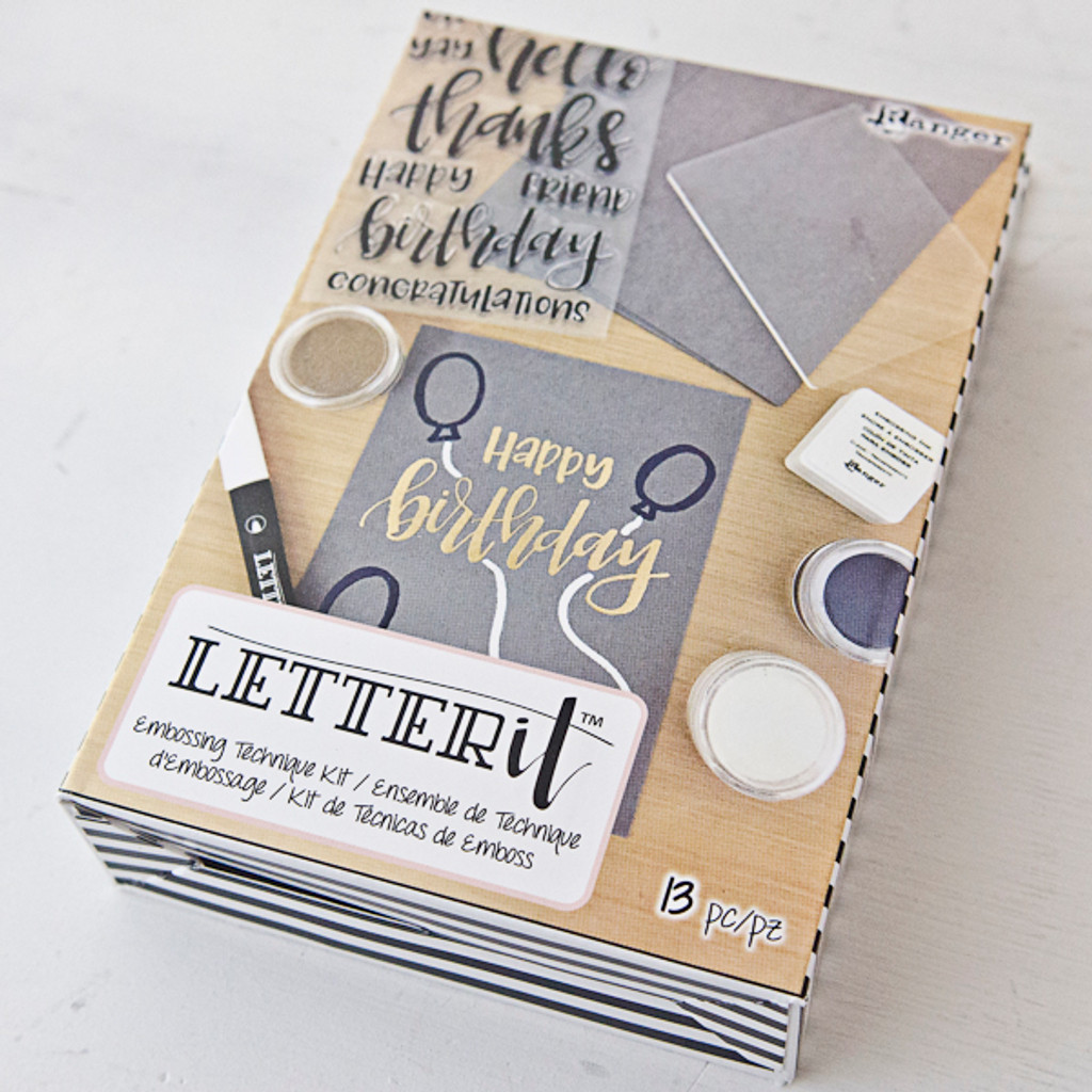 Letter It Embossing Kit