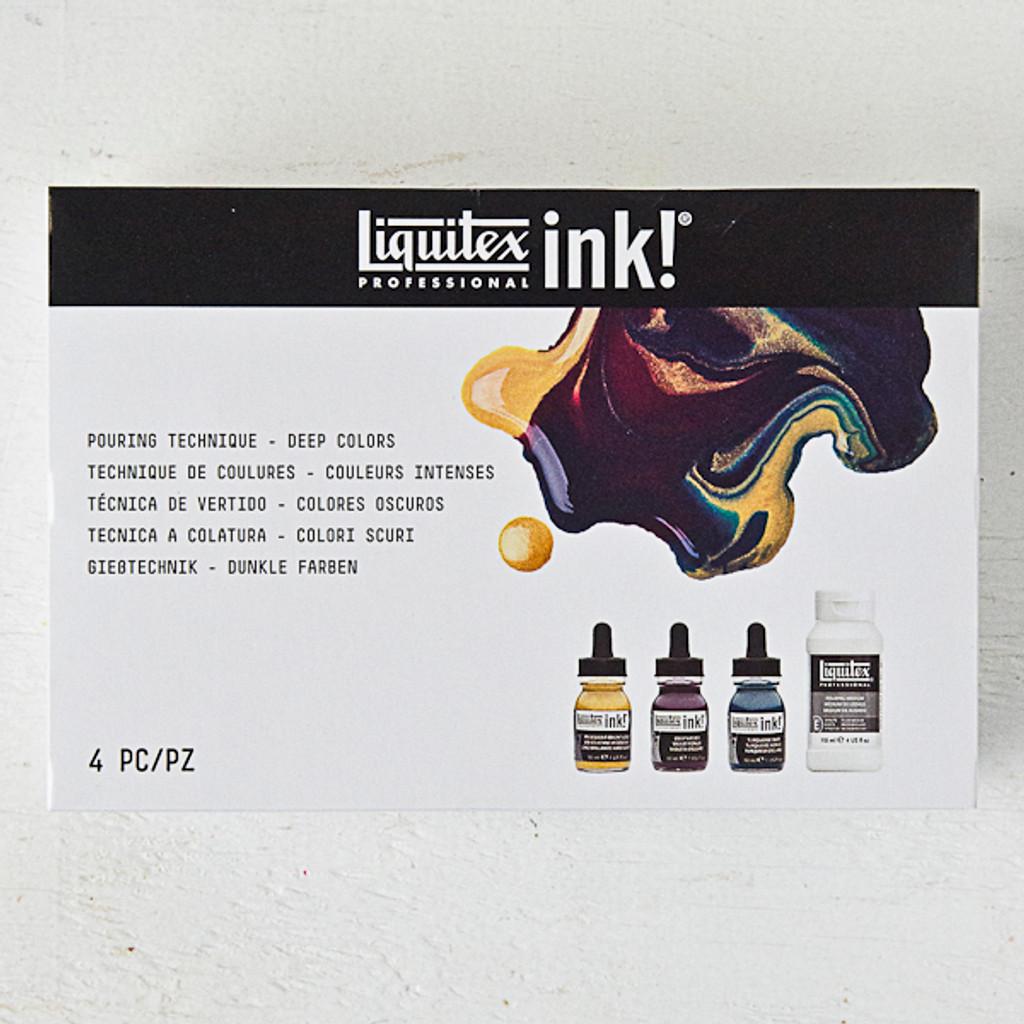 Liquitex Pouring Kit — Deep Colors