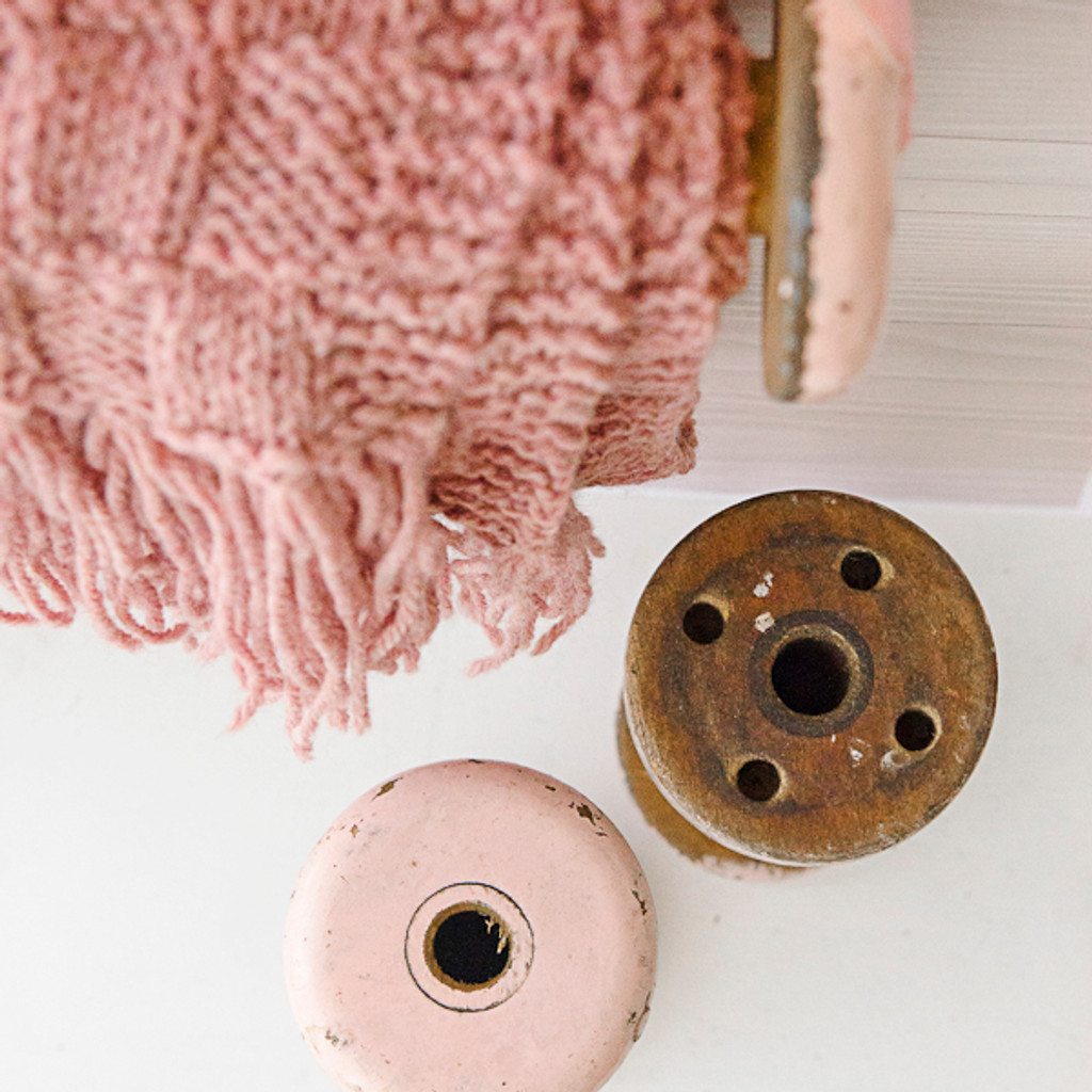 Ways to Use an Antique  Bobbin