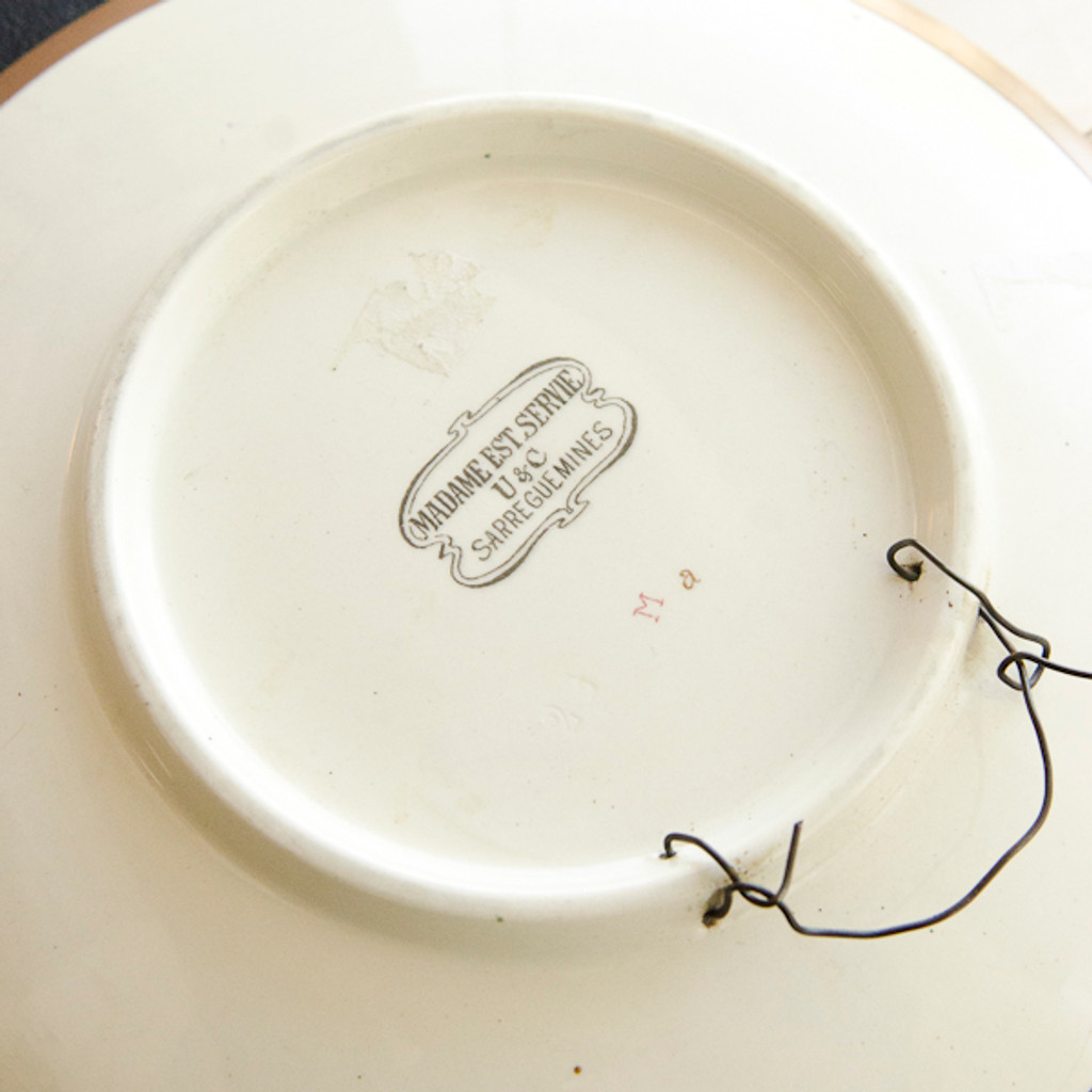 Enfin Seuls! Decorative Plate