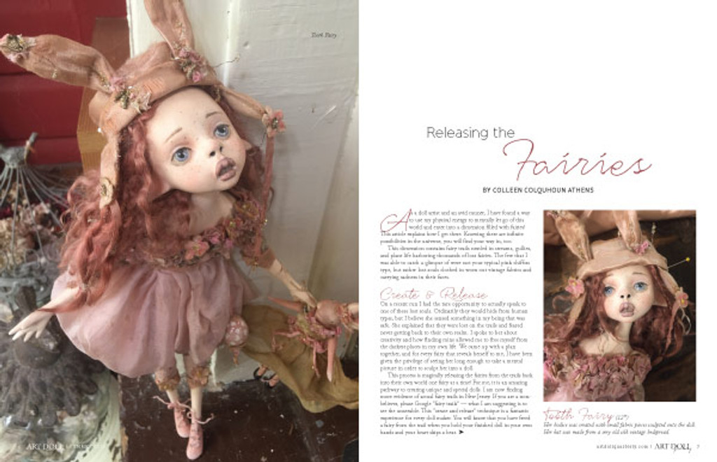 Art Doll Quarterly Summer 2018