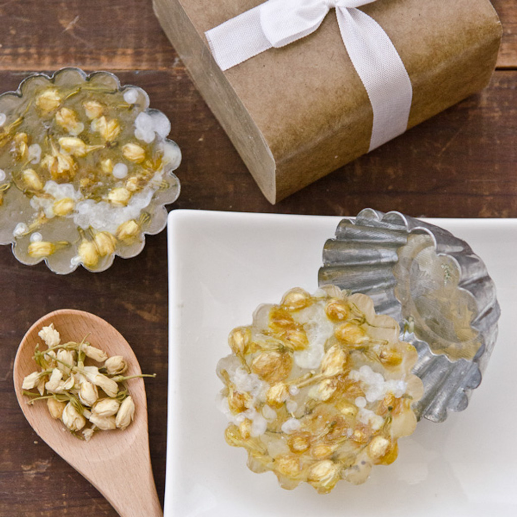 Jasmine and Dead Sea Salt Soap Making Kit