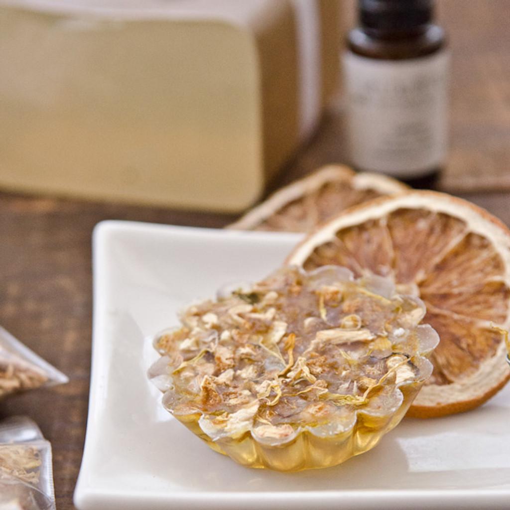 Calendula and Lemon Peel Soap Making Kit