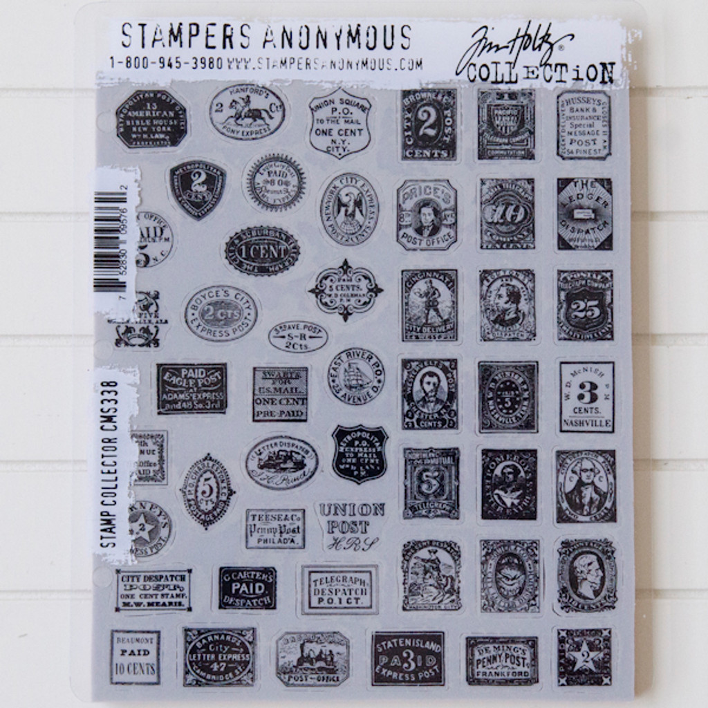 Stampers Anonymous Tim Holtz Cling Stamps - Stamp Collector