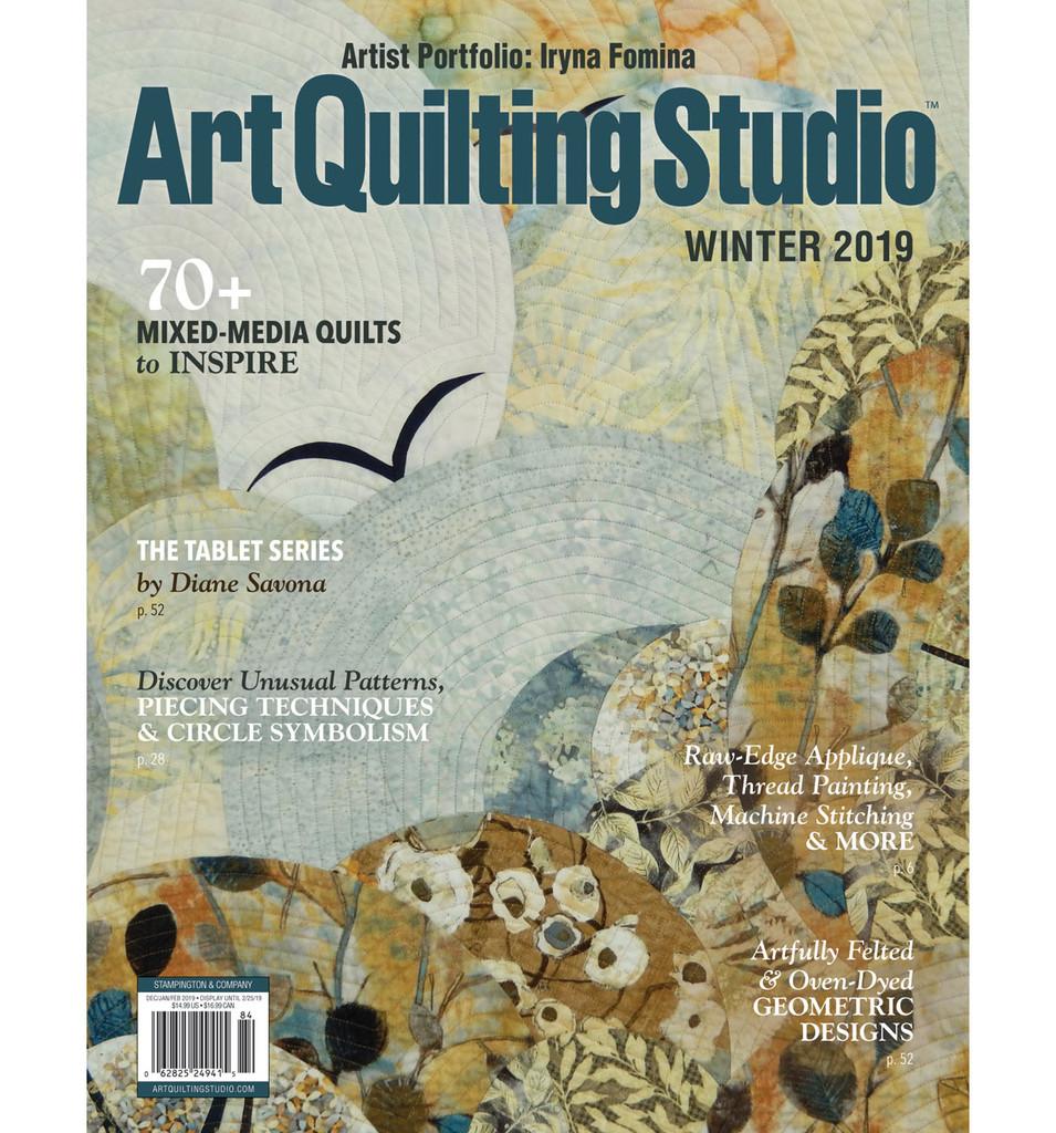 Art Quilting Studio Winter 2019