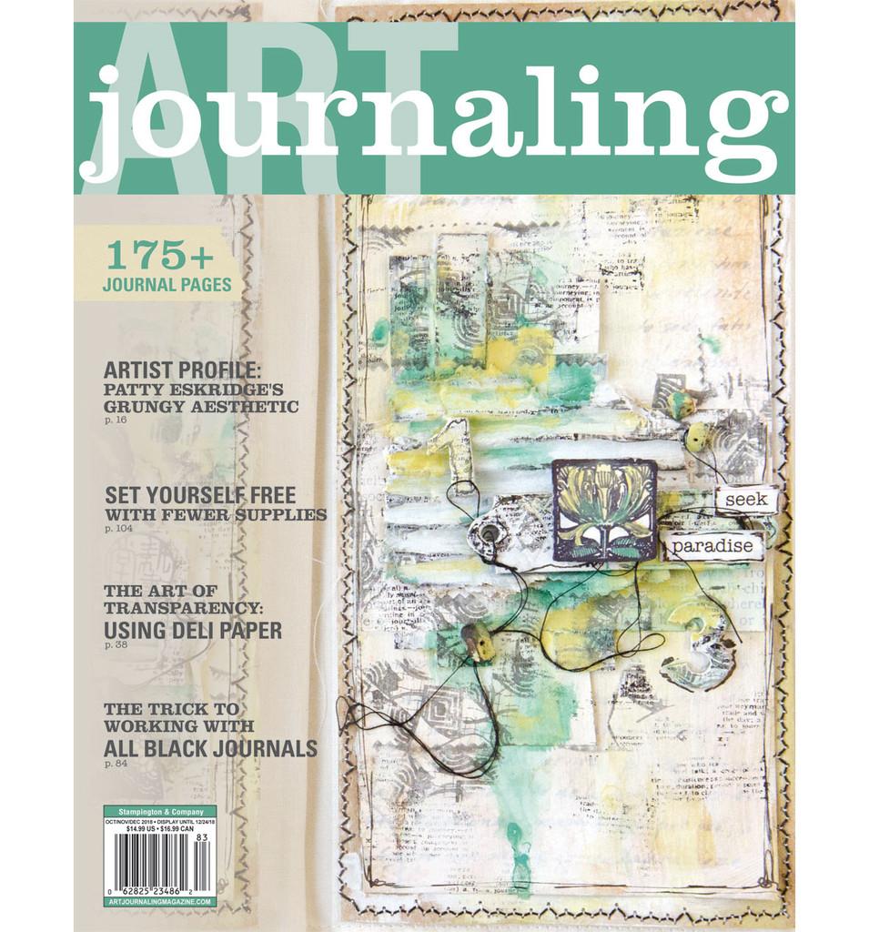 Art Journaling Autumn 2018