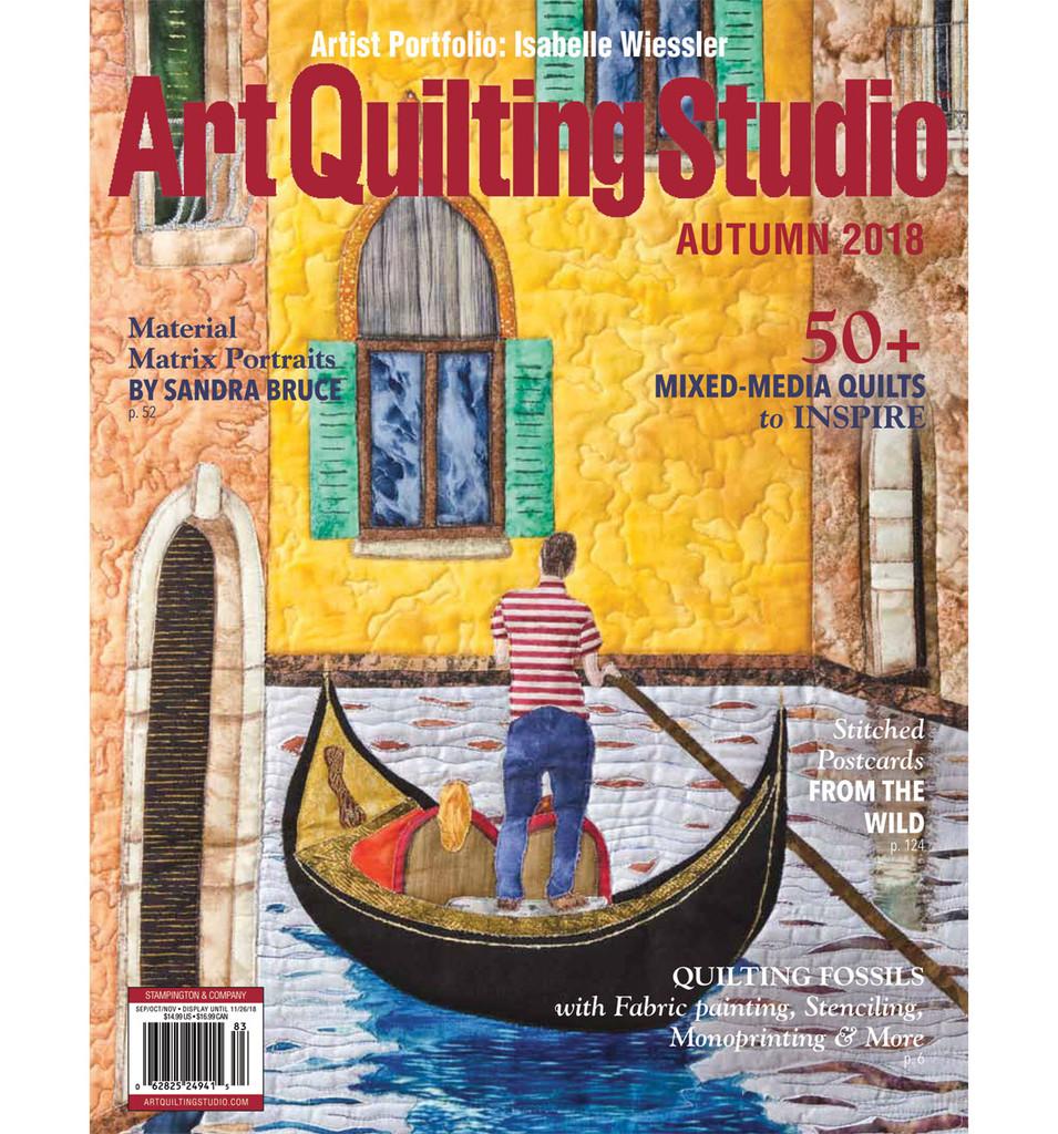 Art Quilting Studio Autumn 2018