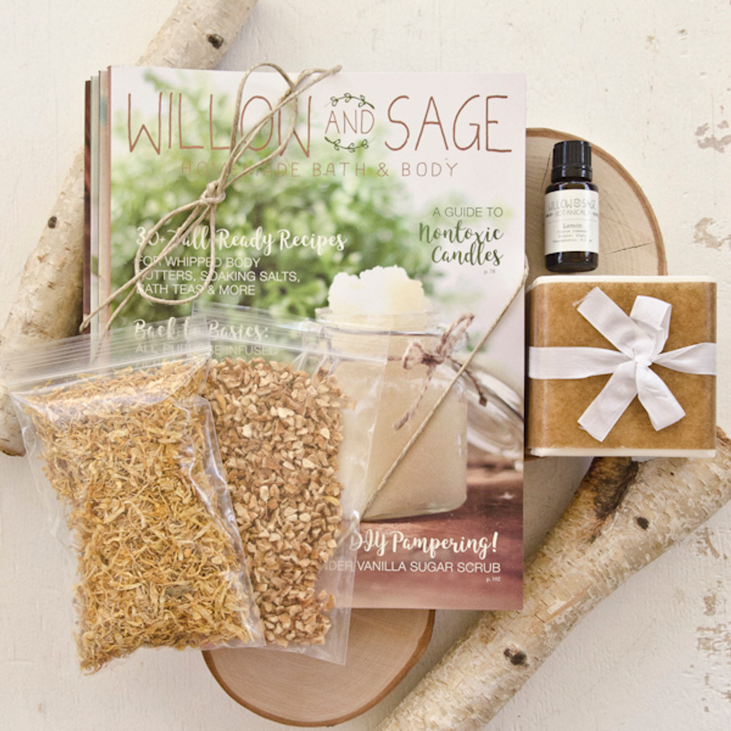 Willow and Sage Deluxe Starter Kit Lemon
