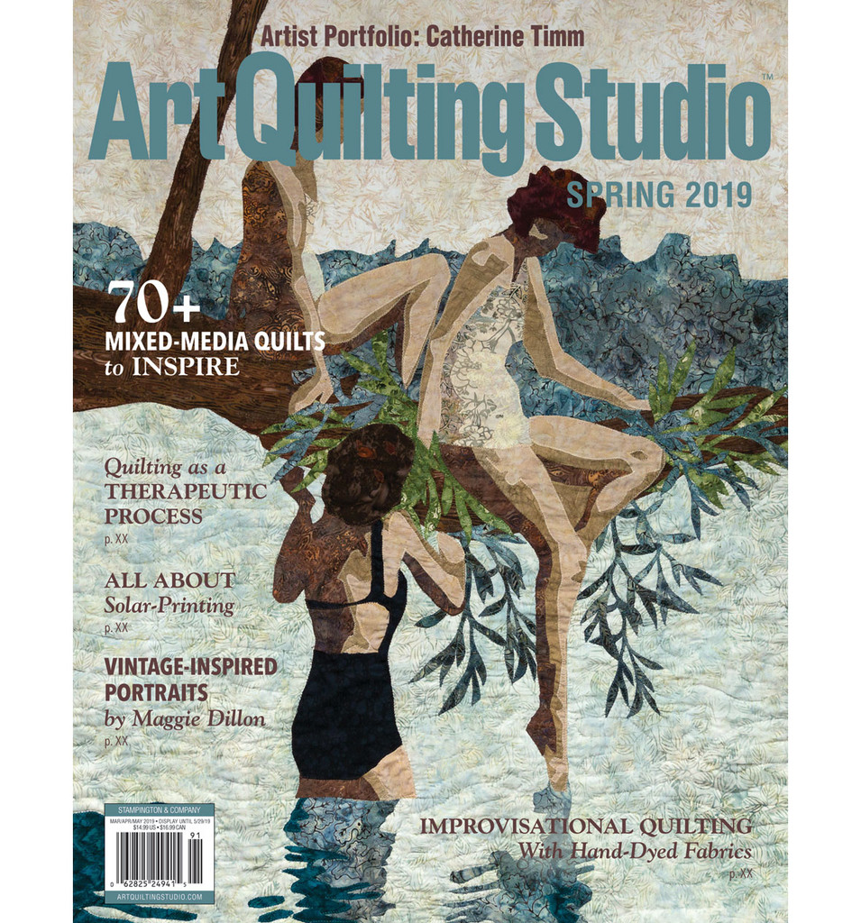 Art Quilting Studio Spring 2019