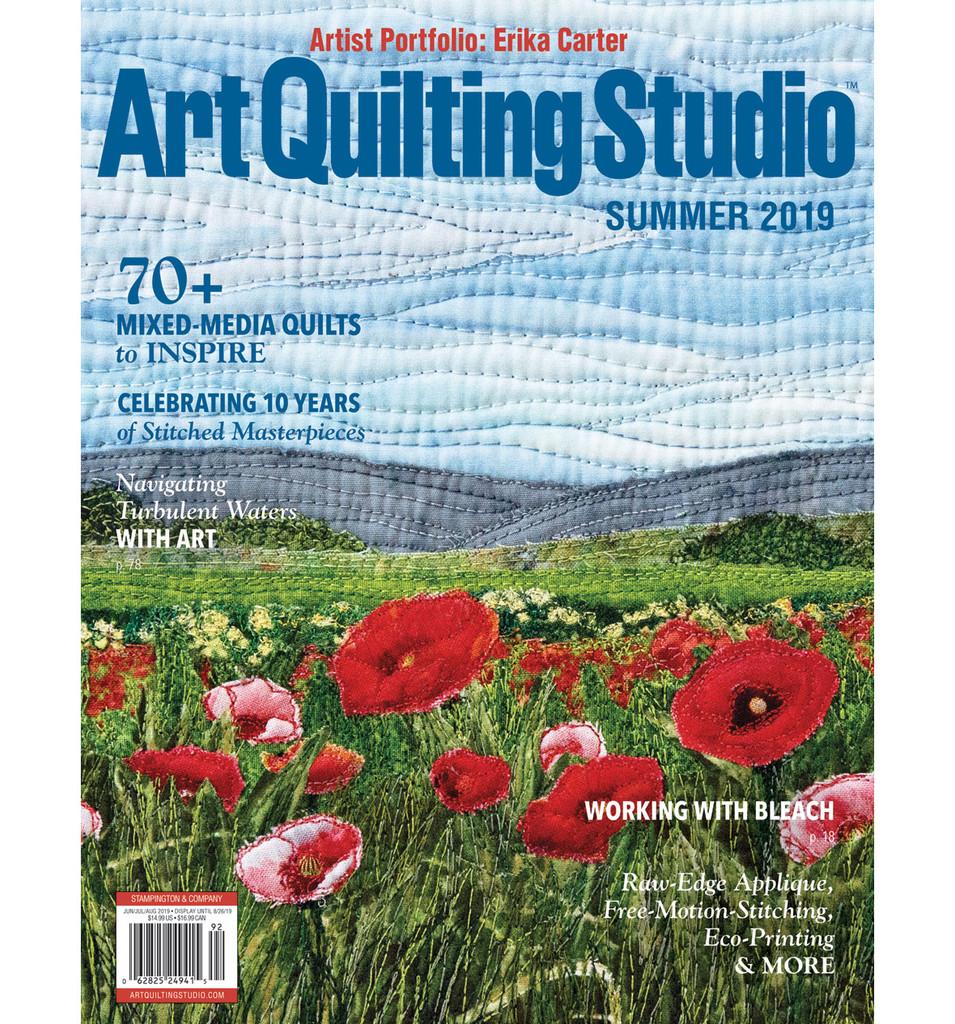 Art Quilting Studio Summer 2019