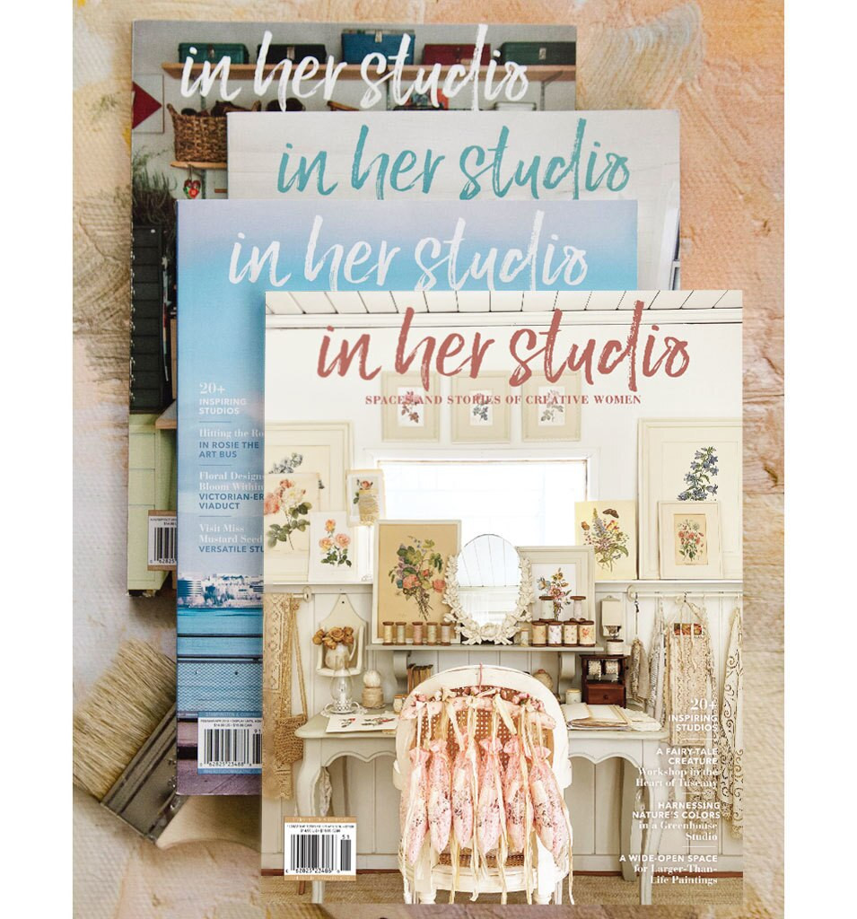 Free Tote with In Her Studio Subscription