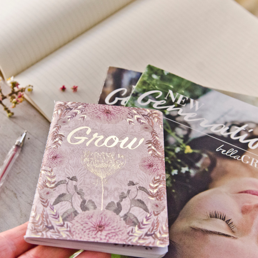 Free Grow Mini Journal with New Generation Subscription