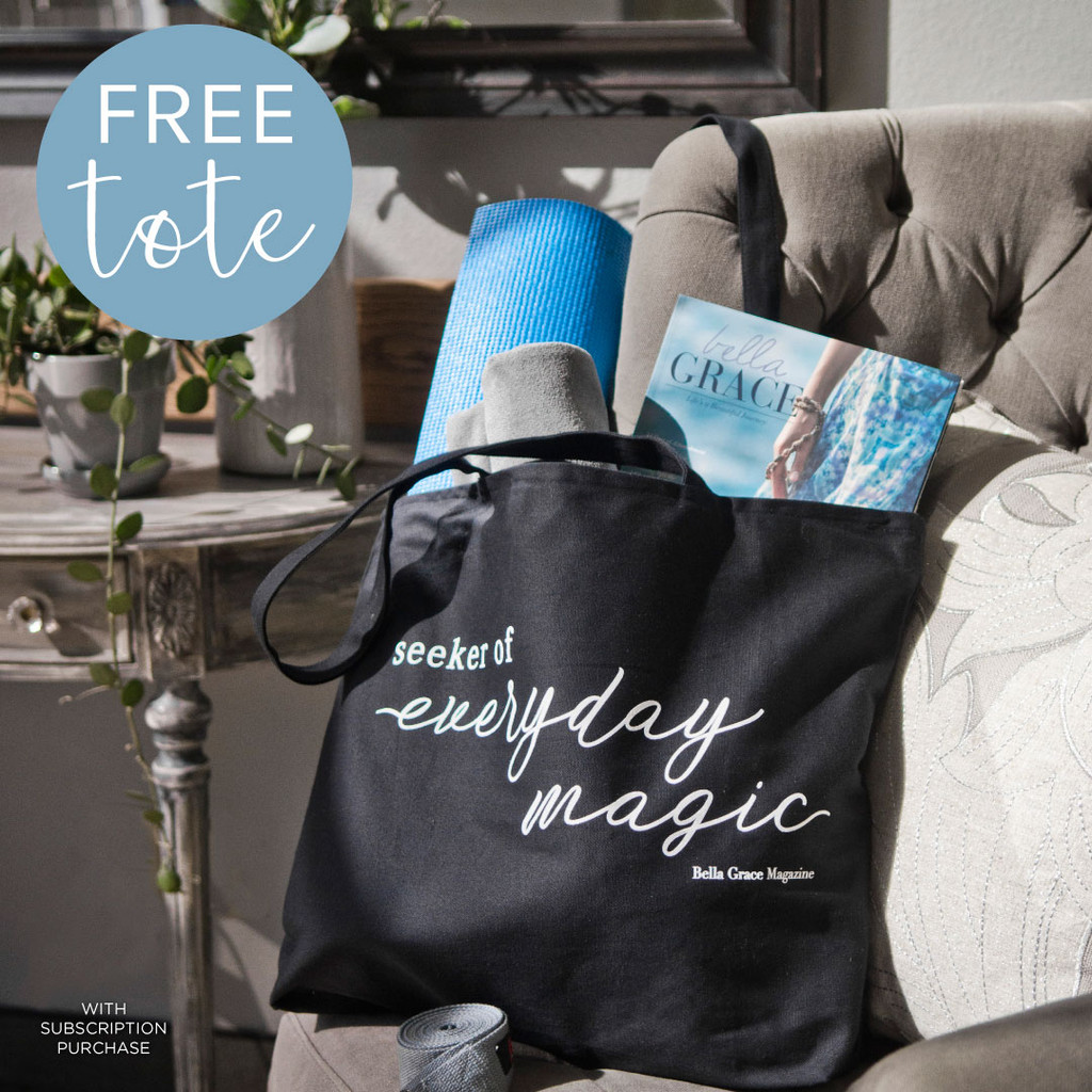 Free Tote with Bella Grace Subscription Offer