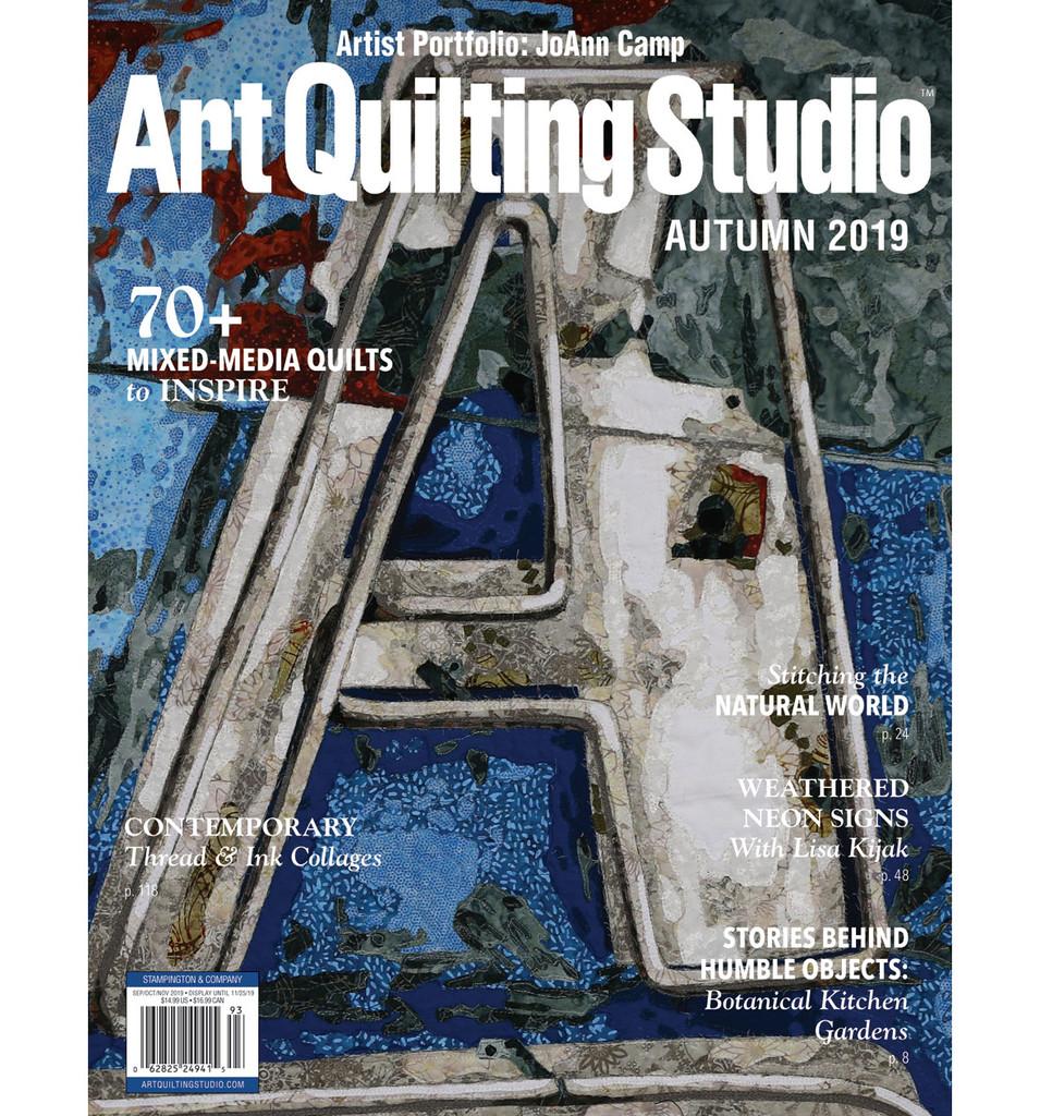 Art Quilting Studio Autumn 2019