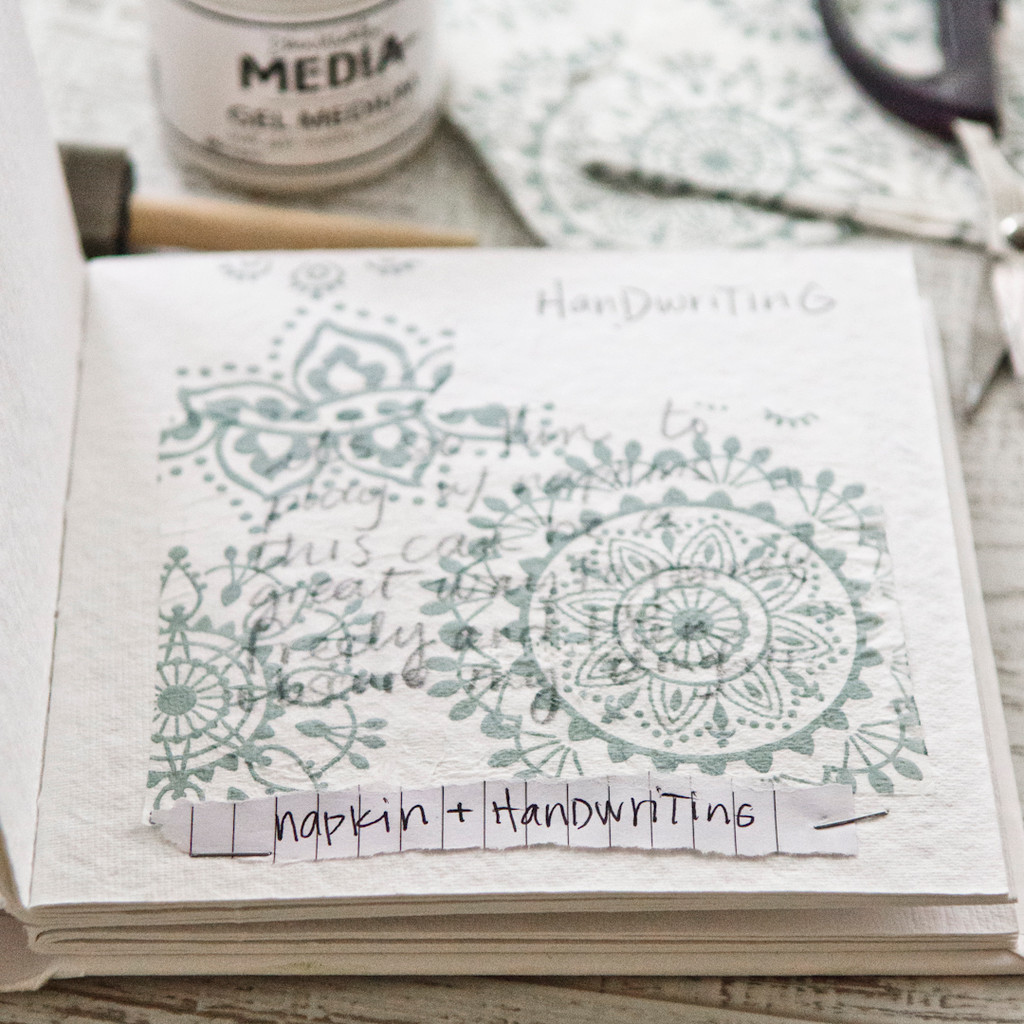 Pass Me a Napkin, Please Project Inspiration by Christen Hammons
