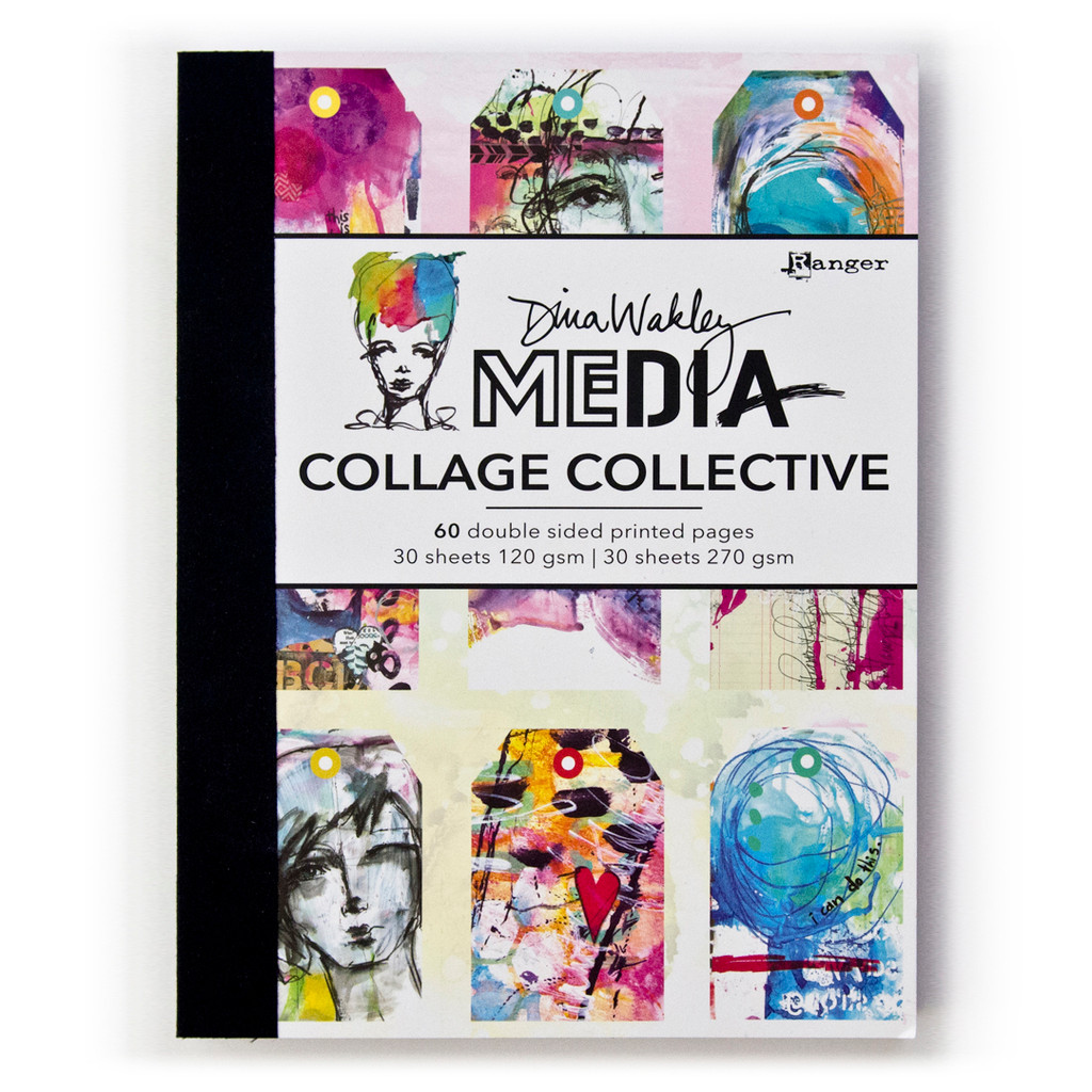 Dina Wakley Collage Collective