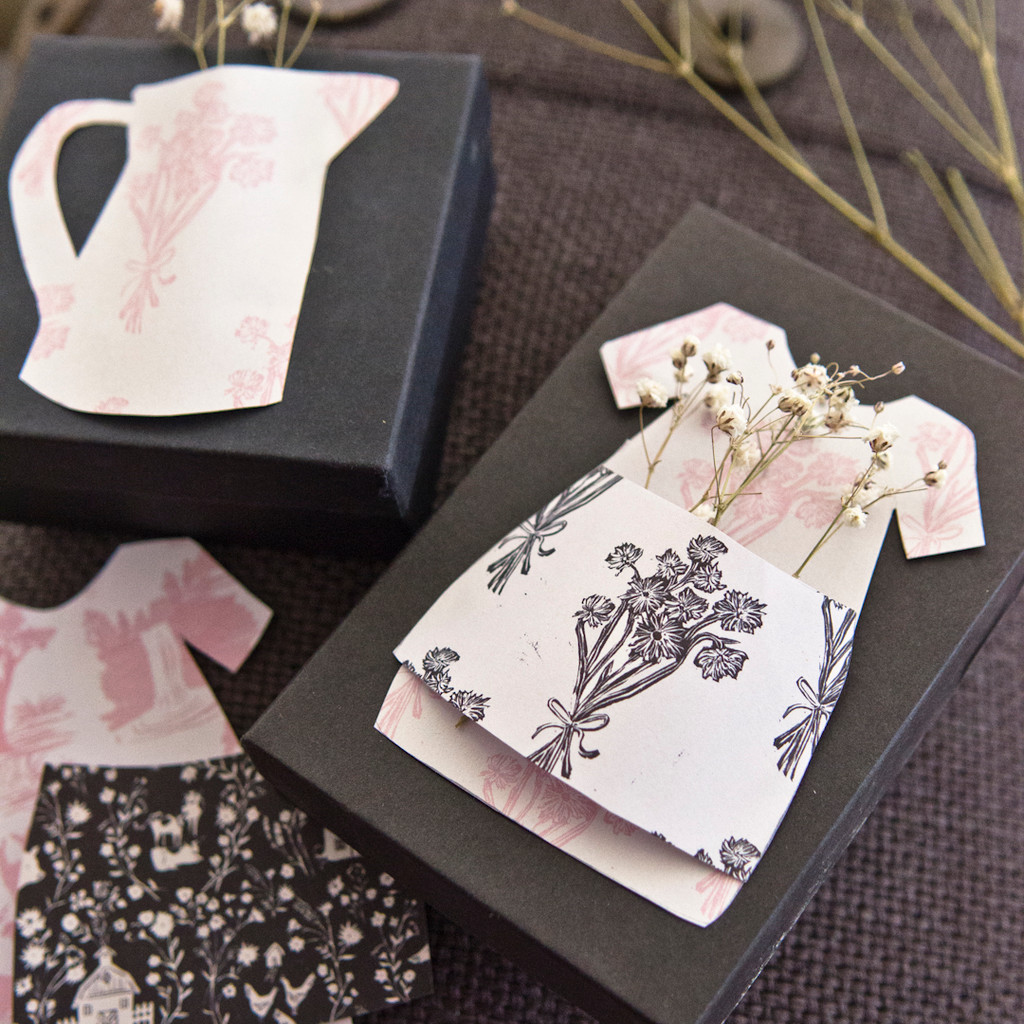 Free Template Custom Gift Packaging by Christen Hammons