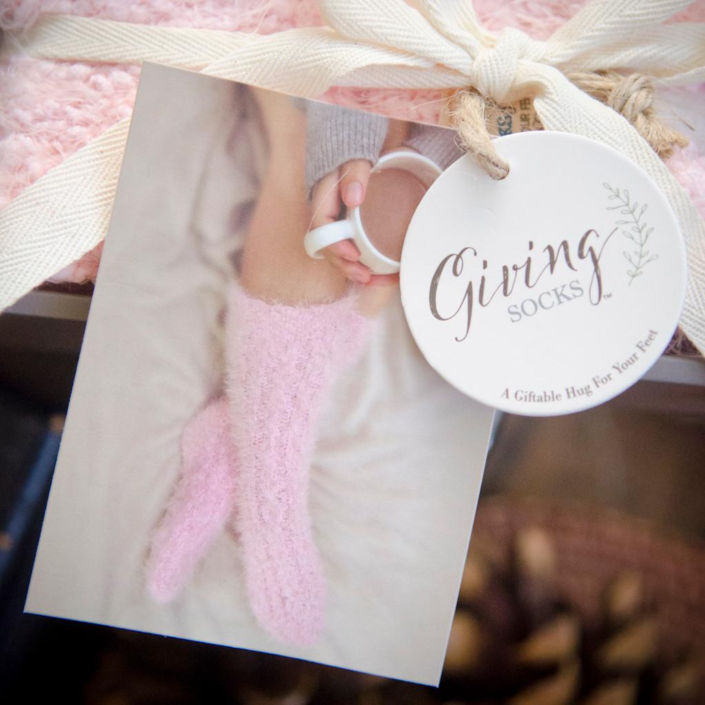 Pink Giving Socks
