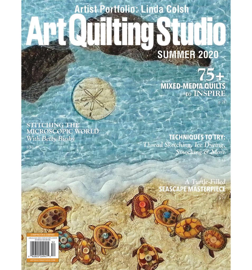 Art Quilting Studio Summer 2020 — New!