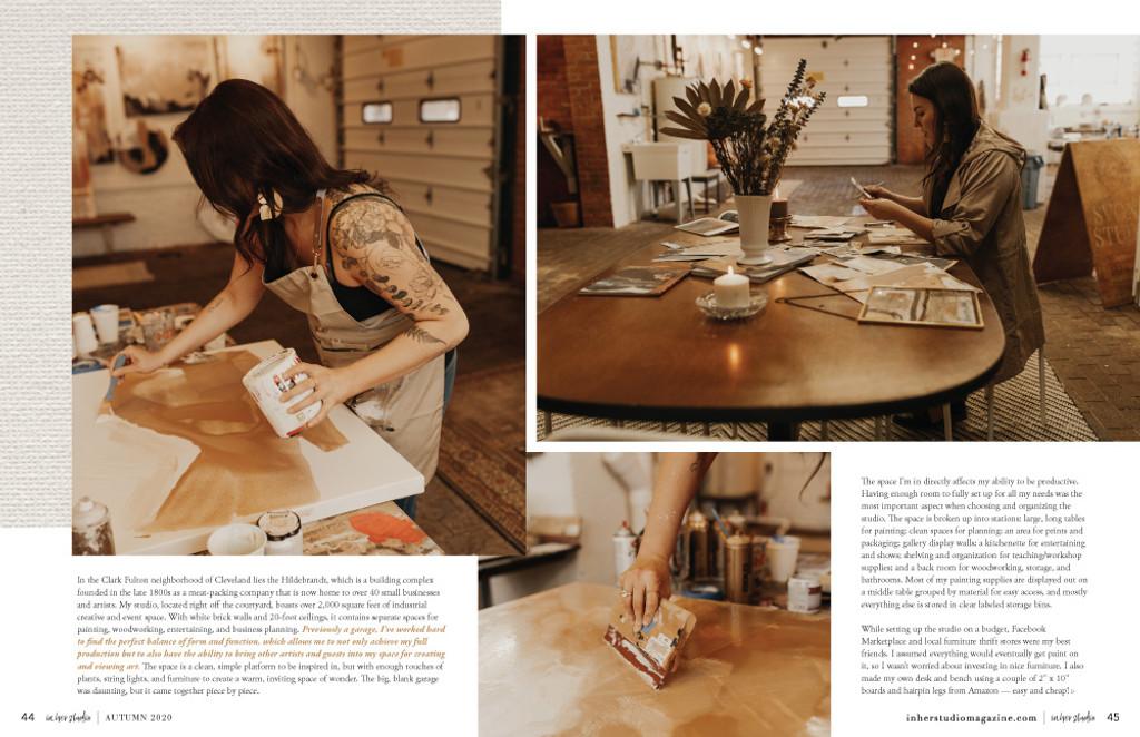 In Her Studio Autumn 2020