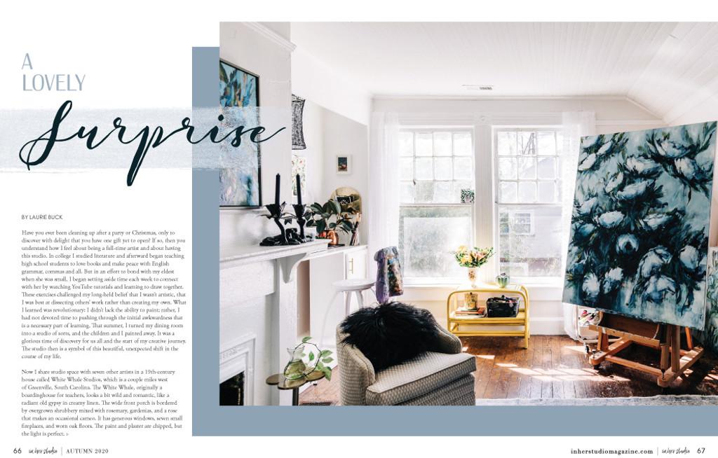 In Her Studio Autumn 2020 — New!